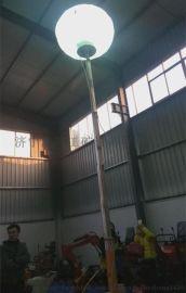 移动式高杆灯升降式工程照明车的工作效率