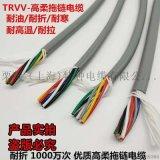 伺服电机用TRVVP耐磨屏蔽伺服电缆