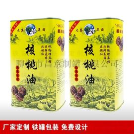 厂家定制食用油铁罐,食用油铁盒,1-5L食用油包装