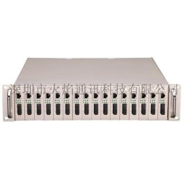机架式光纤收发器  交换机交铝型材 插卡式