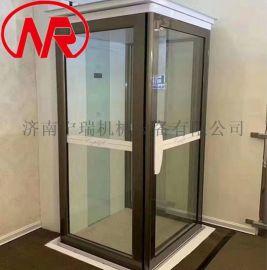 二三层家用别墅电梯 导轨液压电梯
