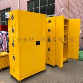 锂电池防爆柜电动车充电电池防火安全柜带排风插座