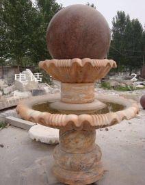 如生雕塑石雕园林风水球