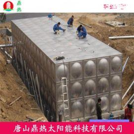 太原环保供水设备鼎热空气能不锈钢水箱消防供水专用低价