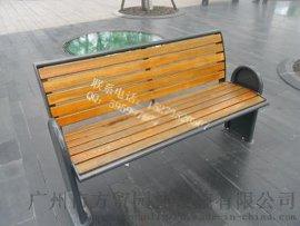 酒店风景区防腐实木F-309公园长椅