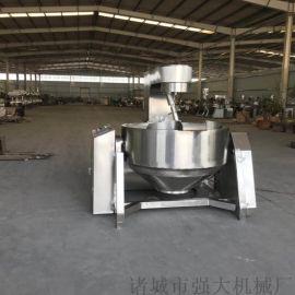 强大机械出售淀粉  电磁加热行星搅拌锅