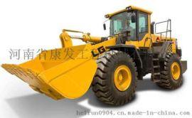 轮式装载机厂家 单钢轮压路机价格 河南省康发工程机