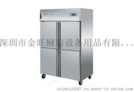 深圳四门高身雪柜  四门冷冻冰箱