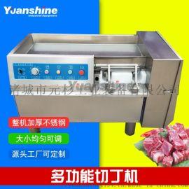 元杉冻肉切丁机 猪  肉切丁切条机 牛排切片机