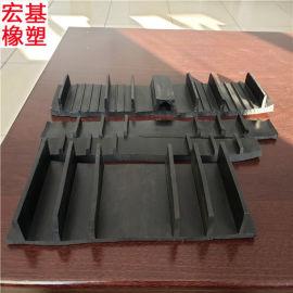 外贴式橡胶止水带300*8施工缝外贴式橡胶止水带