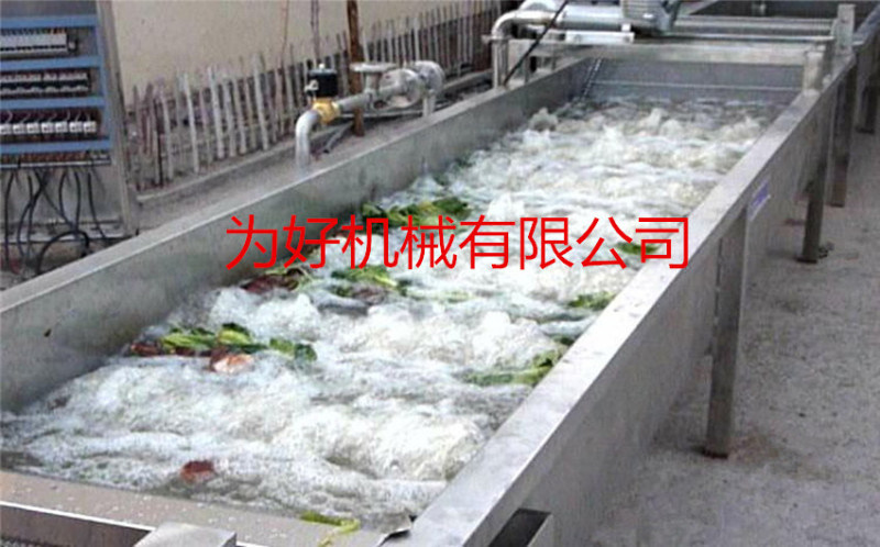 果蔬食品喷淋式清洗机  气泡清洗机