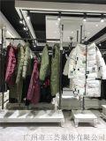 广州哪里有帛兰雅羽绒服品牌折扣女装货源