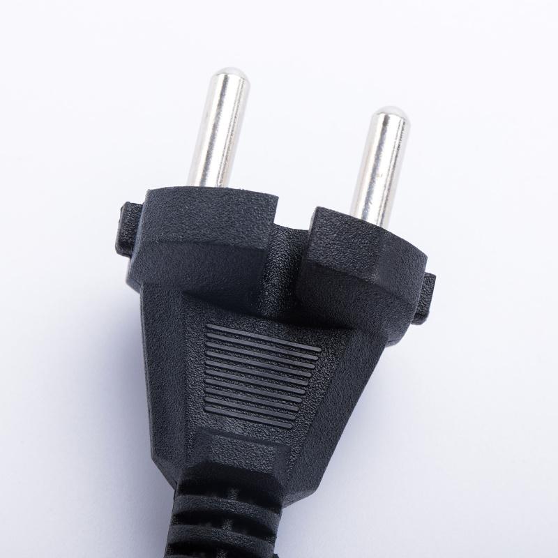 欧标二插 电源线 插头线 VDE 纯铜新料