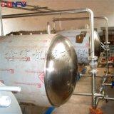 鑫富供應,牛肉粒雙鍋並聯水浴式殺菌鍋,牛肉乾殺菌鍋
