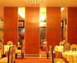 綿陽酒店活動隔斷懸吊式摺疊門吊軌式屏風優質服務