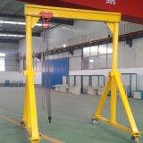 定製移動龍門吊架模具吊車發動機吊架起重機小型升降葫蘆電動手推