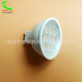 LED灯杯4W 低压DC12-36V通用 MR16贴片LED射灯 工程展柜专用