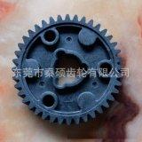 大模数尼龙塑料齿轮耐磨损大扭力东莞市秦硕齿轮厂专业生产