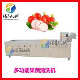 腾昇牌草莓气泡清洗机  食堂酒店商用洗菜机