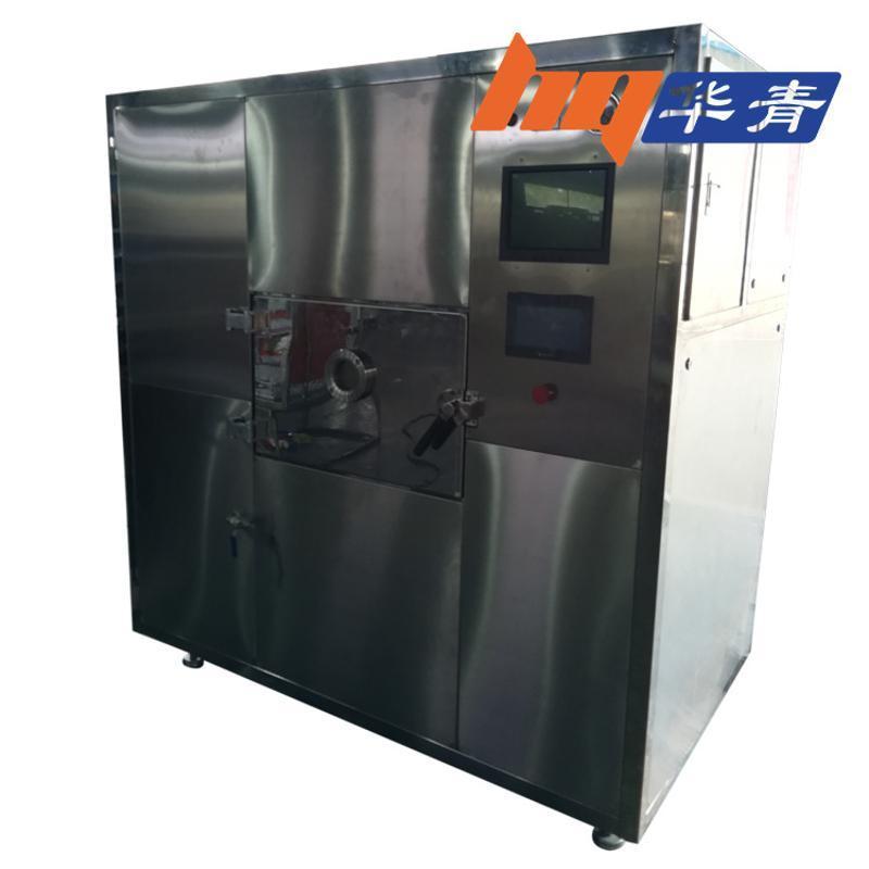 微波加热设备 冷链配送盒饭快速加热 学校食堂专用 连续微波加热