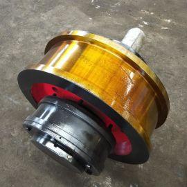 φ700*180双缘轮车轮组 天车车轮组 航吊轮