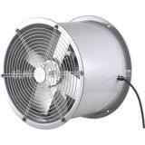 供應SFWL3-4型直徑300mm耐高溫高溼鋁葉管道式軸流通風機