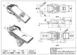 厂家供应QF-00   不锈钢快开搭扣、工程搭扣 核电快开搭扣