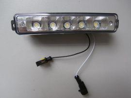 直接接电瓶大功率高亮度五珠通用LED日行灯A05B