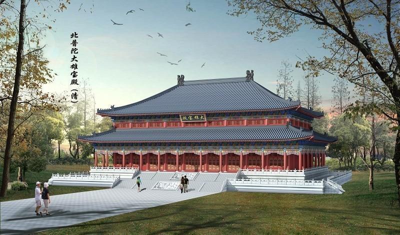 寺庙修缮施工