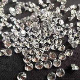 莫桑石碎钻厂家直销戒指项链镶嵌仿真钻厘石小钻副石