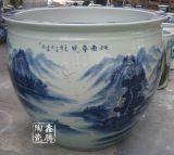 青花瓷魚缸價格 廠家直銷陶瓷大缸