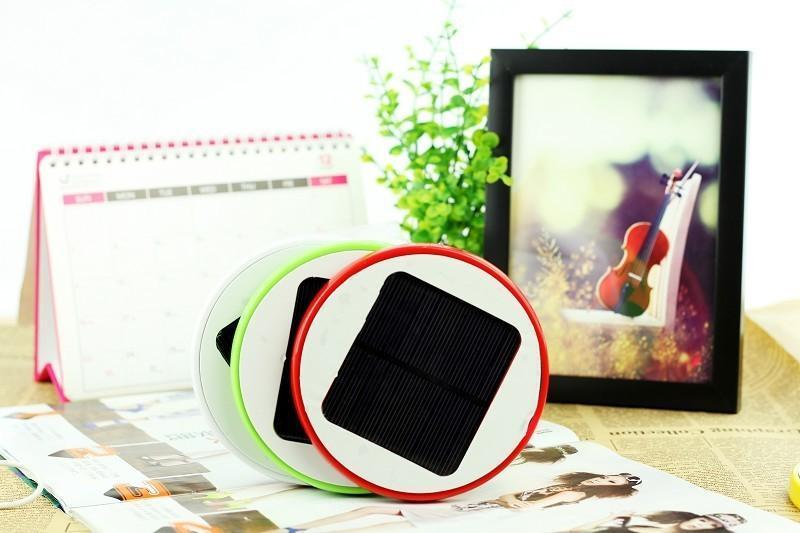 創意禮品 節能移動電源 吸窗太陽能手機充電器