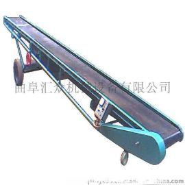 升降圆管带式输送机 移动式胶带输送机