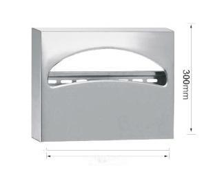 不锈钢坐厕纸架  二分之一坐便纸箱