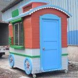 售貨車,木製售賣車,移動售賣亭