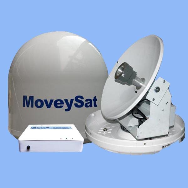 船載衛星天線YM290,船用電視天線,雙軸雙陀螺跟蹤,高清畫質