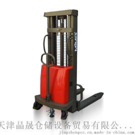 半电动堆高车 电动叉车 电动堆垛车 电动升降装卸车 电瓶叉车