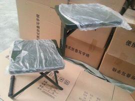 批量供应士兵两用学习凳折叠凳折叠椅便捷式士兵折叠椅厂家直销