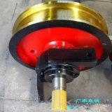 500x130車輪廠家直銷 單緣(邊)主動車輪 5T單樑起重機大車軌道運行專用車輪 天車車輪