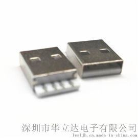 A公注塑式无缝 USB连接器