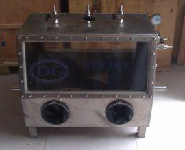 双面操作型亚克力有机玻璃,304不锈钢手套箱(操作箱)