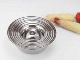 思美雅韩式汤盆 加厚加深无磁不锈钢汤盆 菜盆餐具赠品礼品