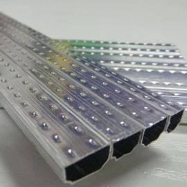 厂家直销中空玻璃铝隔条 中空铝条 门窗专用铝条 高频焊接铝隔条