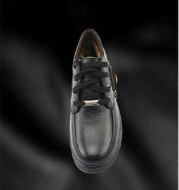 能发热能调温的外置机芯电热皮鞋-爱心暖脚王