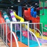 蹦牀公園 廠家定製魔鬼滑梯旱雪大滑梯 淘氣堡設備新希望遊樂設備