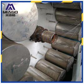 pvc编织增强管挤出设备 塑料包纱管挤出生产线