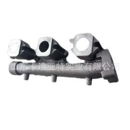 重汽 黄河少帅 系列配件 后排气歧管VG2600111136 厂家图片价格