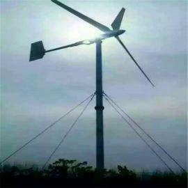 微风启动风光互补风力发电机路灯用