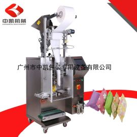 广州中凯厂家直销活性炭包包装机超声波无纺布包装机立式包装机