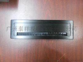 单面多功能过线盒,阻尼式缓冲线盒,太空镁铝拉丝经典款线盒,定制拉丝阻尼式线盒